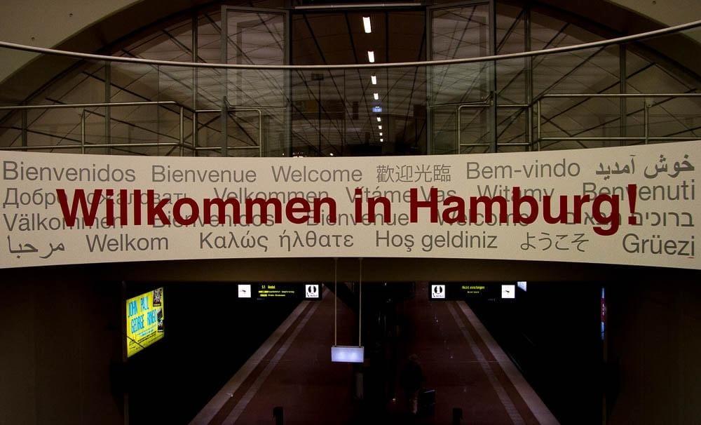 Willkommen in Hamburg Flughafen S-Bahn