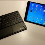 Samsung Tablet-PC mit Bluetooth-Tastatur
