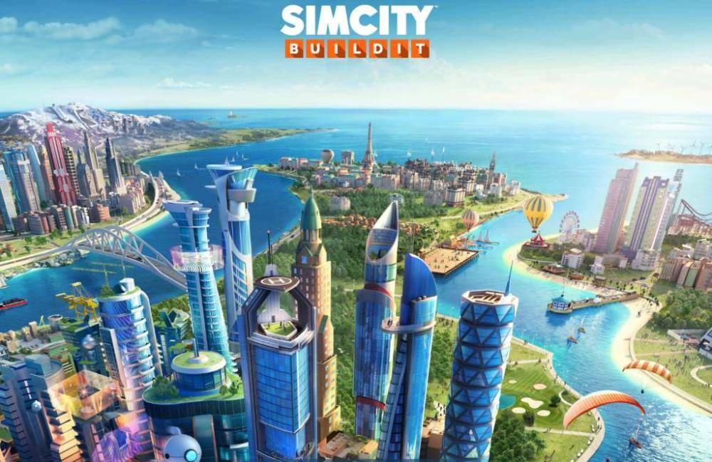 Simcity Buildit Startscreen