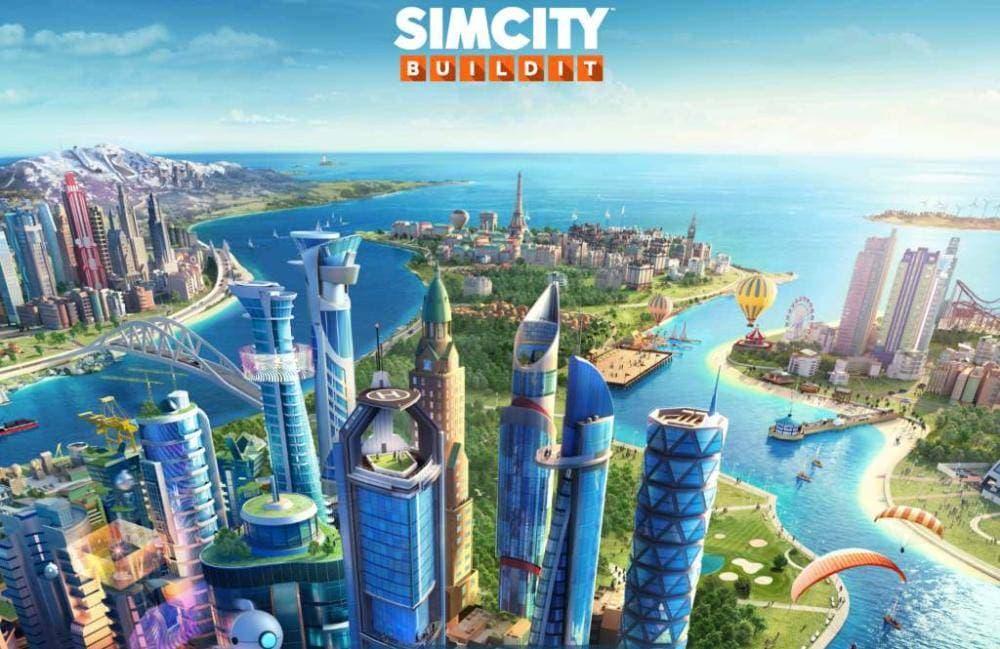 Simcity Buildit Startscreen