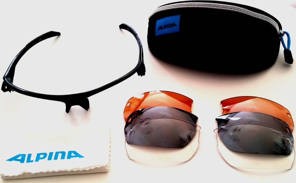 Alpina Tri Scray Sportbrille Lieferumfang