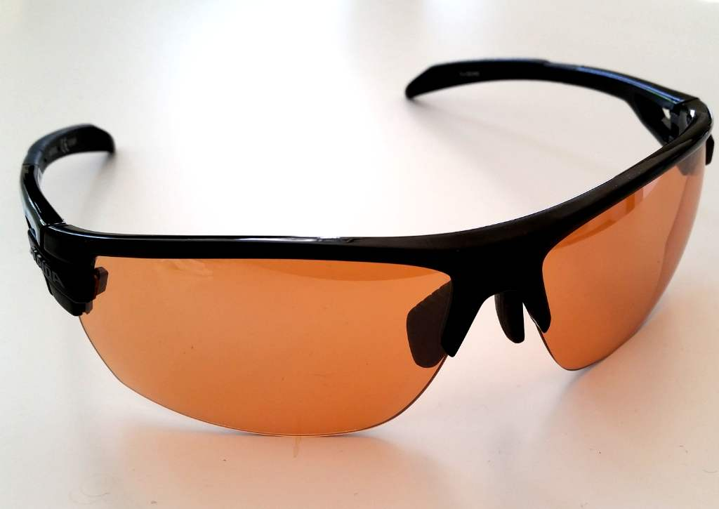 Alpina Tri-Scray Sportbrille orange Gläser