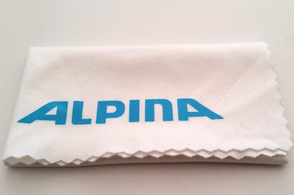 Alpina Tri-Scray Sportbrille Putztuch