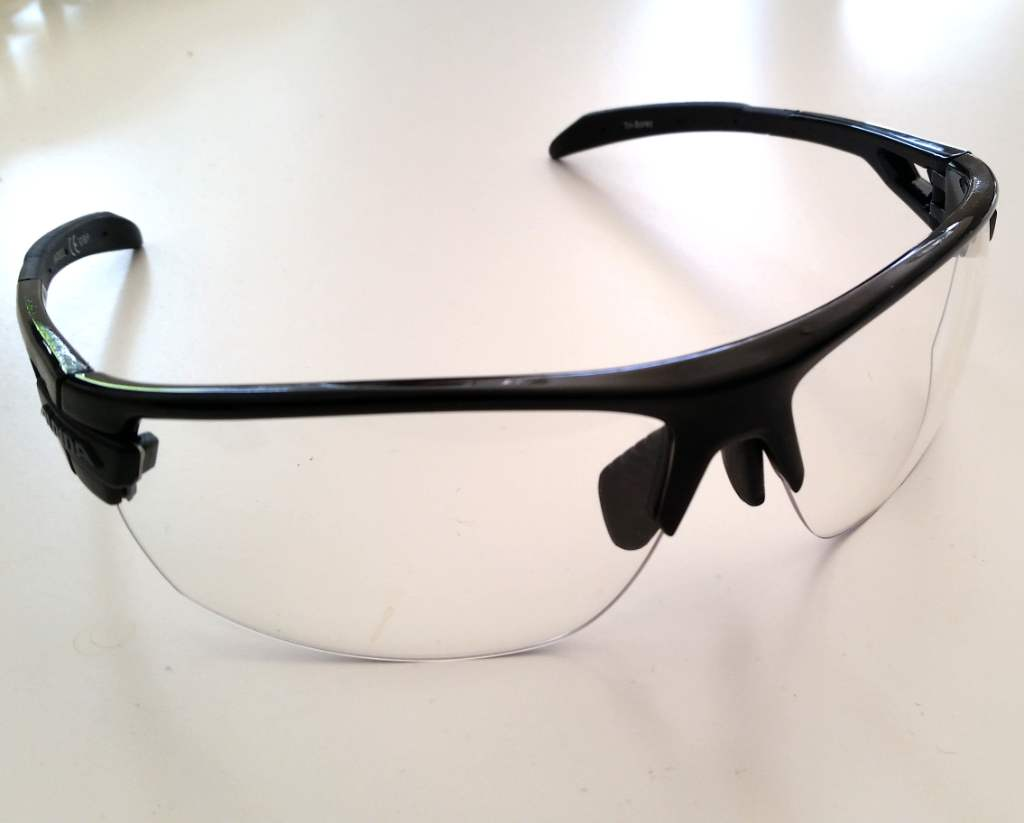 Alpina Tri-Scray Sportbrille transparente Gläser