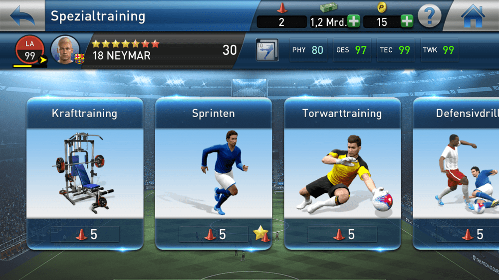 PESCM 2017 Training Neymar