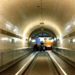 Alter Elbtunnel Ende Des Tunnels