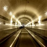 Alter Elbtunnel Tunnelblick