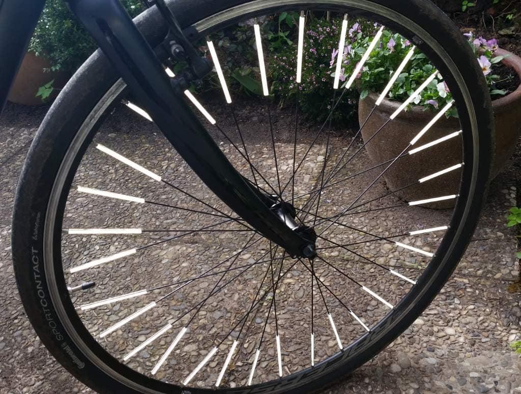 Büchel Speichenreflektor Rad mit Licht