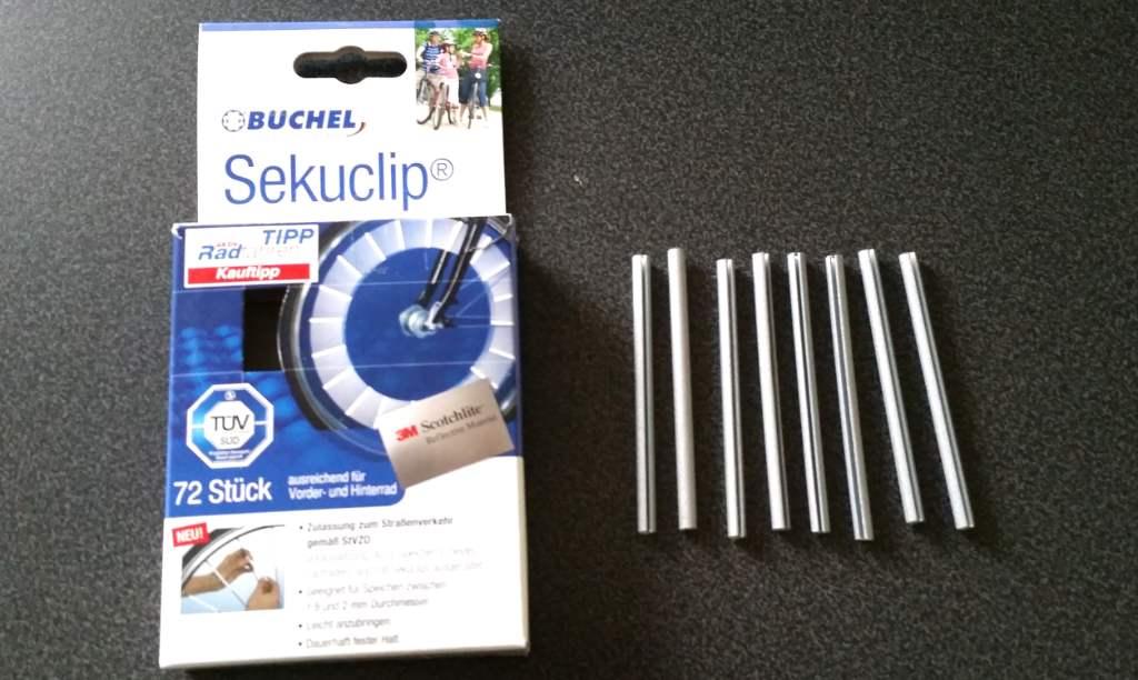 Büchel Speichenreflektor Verpackung