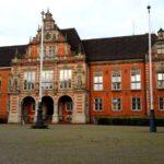 Harburg Rathaus Frontansicht