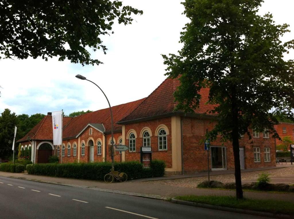 Marstall Ahrensburg Schrägansicht