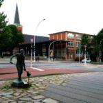 Max Schmellingpark Harburg Figur