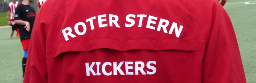 Banner Roter Stern Kickers 05 Jacke
