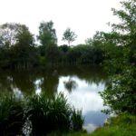 See auf dem Weg von Meilsdorf nach Siek