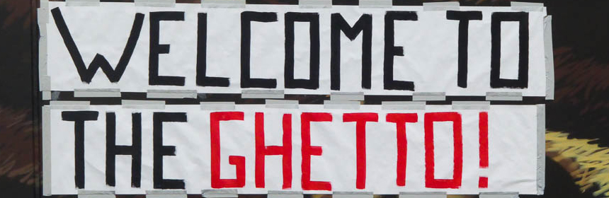 Welcome to the Ghetto Banner