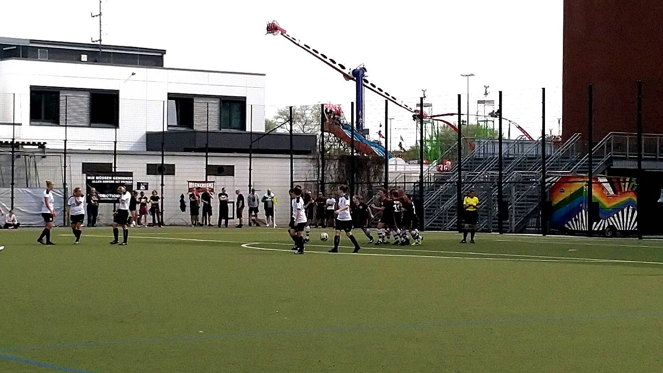 Fc St Pauli 1 Frauen Vs Fortuna Celle Torjubel Amke Heim 04 2018