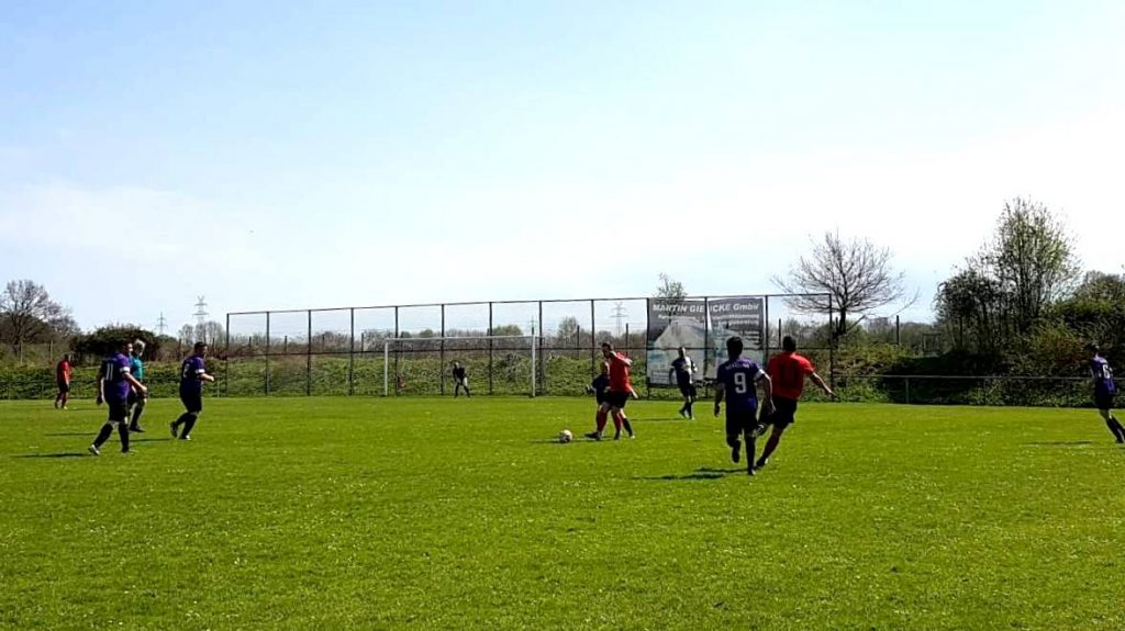 Jus Fischbek 2 Vs Roter Stern Kickers 05 1 Banner Auswaerts 04 2018