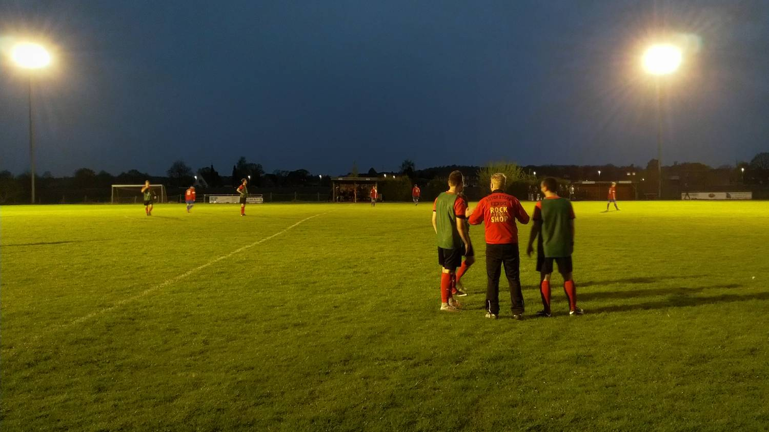 Vfr Todendorf 2 Vs Roter Stern Kickers 05 Taktikbesprechung Auswaerts 04 2018