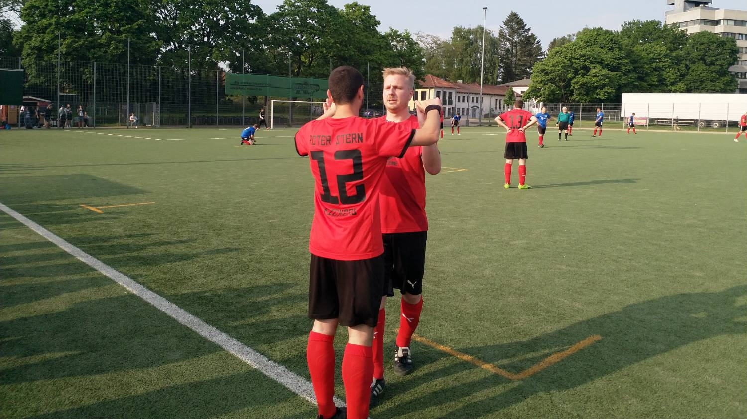 15 Roter Stern Kickers 05 Vs Fc Ahrensburg 2 Auswechslung Effe 05 2018