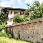 049 Fraueninsel Rundgang Steinmauer Am Kloster