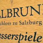 058 Wegweiser Zum Schloss Hellbrunn