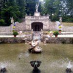 071 Schloss Hellbrunn Wasserspiele Grotte Hinter Schloss