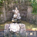 075 Schloss Hellbrunn Wasserspiele Zeus Statue