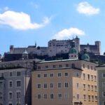 081 Salzburg Festung Hohensalzburg Vom Fluss