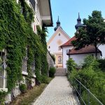 095 Aschau Aufstieg Zur Kirche