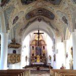 096 Aschau Kirche Altar