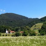 111 Aschau Kirche Vor Berg