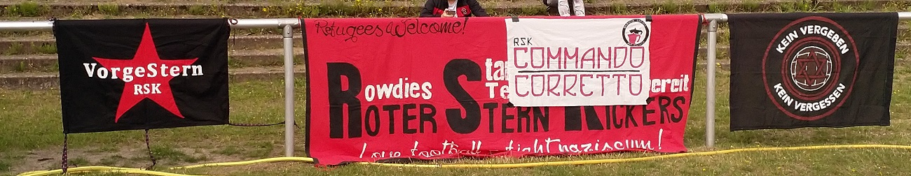 Tus Luebeck Roter Stern Kickers 05 Banner